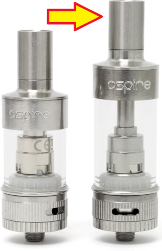 Aspire Atlantis als 5 ml Version - Subohm